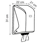 Полотенце бумажное рулонное центральной вытяжки MUREX, 6 рулонов по 280 метров, фото 5
