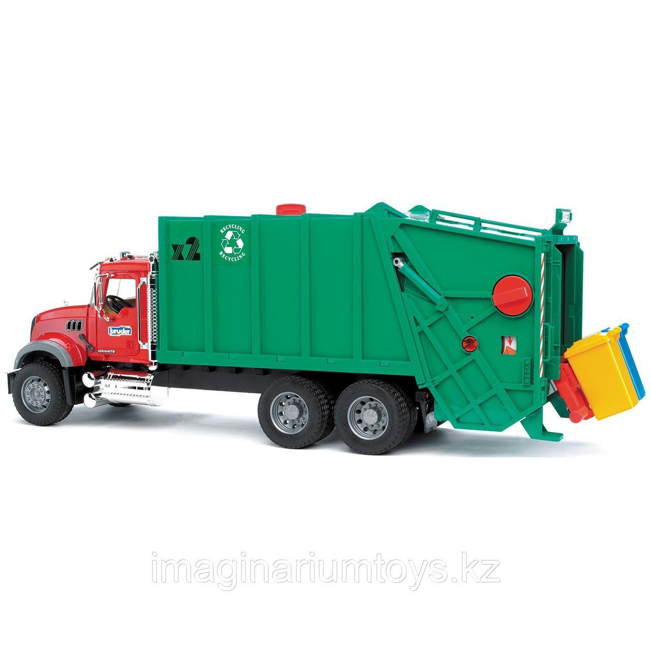 Игрушка Bruder машина мусоровоз Mack