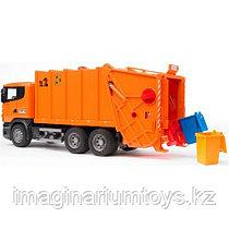 Bruder машина игрушечный мусоровоз Scania