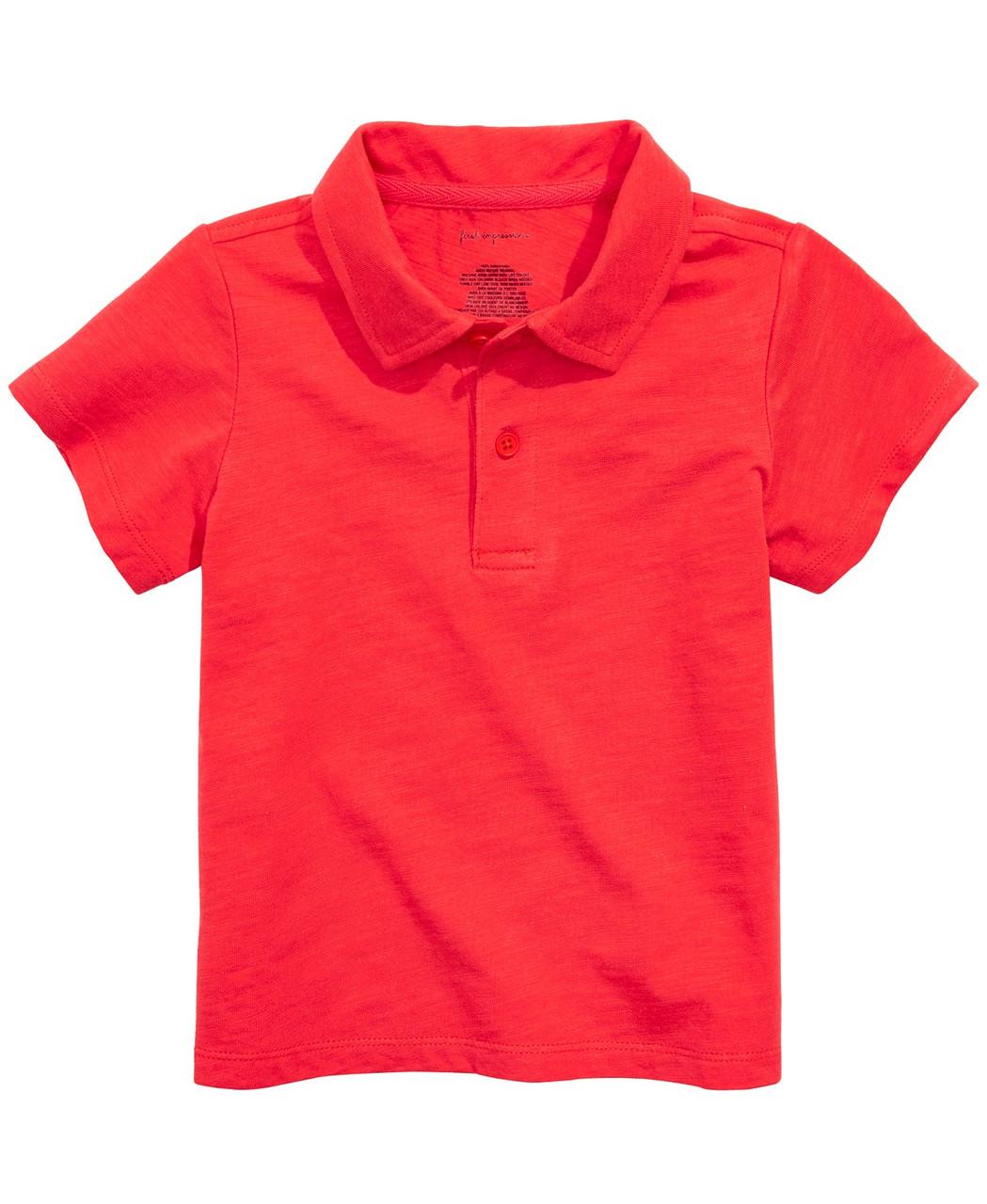 First Impressions Детская футболка-поло
