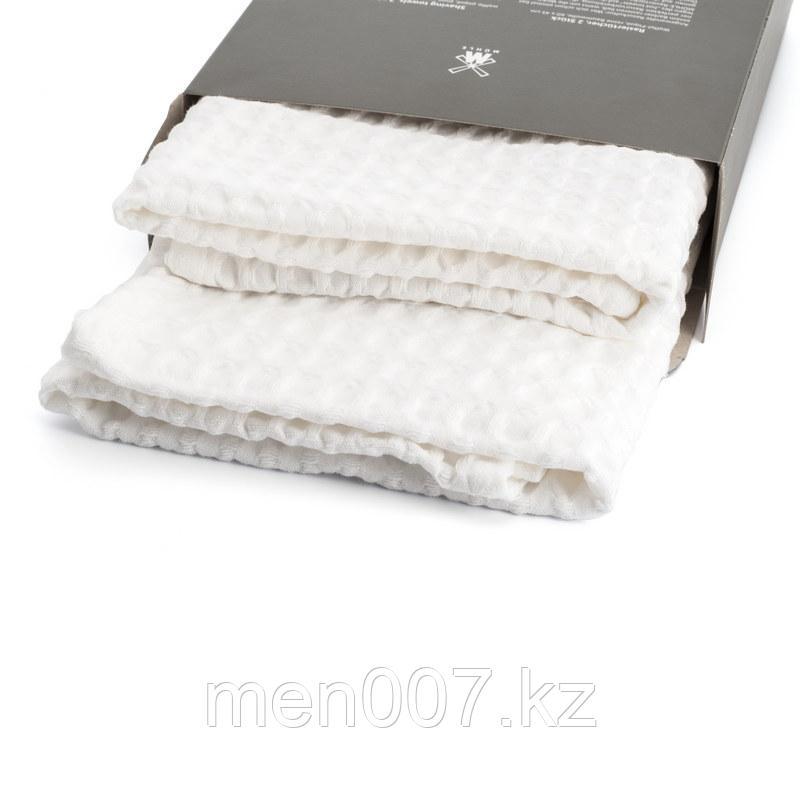 Muehle Набор вафельных полотенец для бритья 100% хлопок (2 шт)