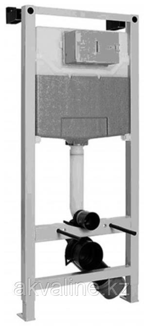 Комплект Инсталляция для подвесного унитаза, подвесной унитаз безободковый, крышка сиденье К12052001