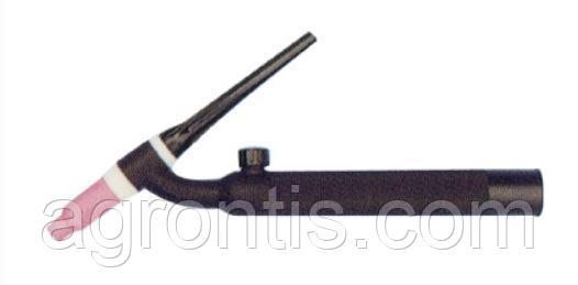 Гусак для сварочной TIG горелки (WP 18) (гибкий  с вентилем)
