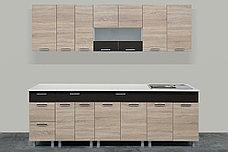 Комплект мебели для кухни Арабика 2600, Дуб Сонома, СВ Мебель(Россия), фото 3