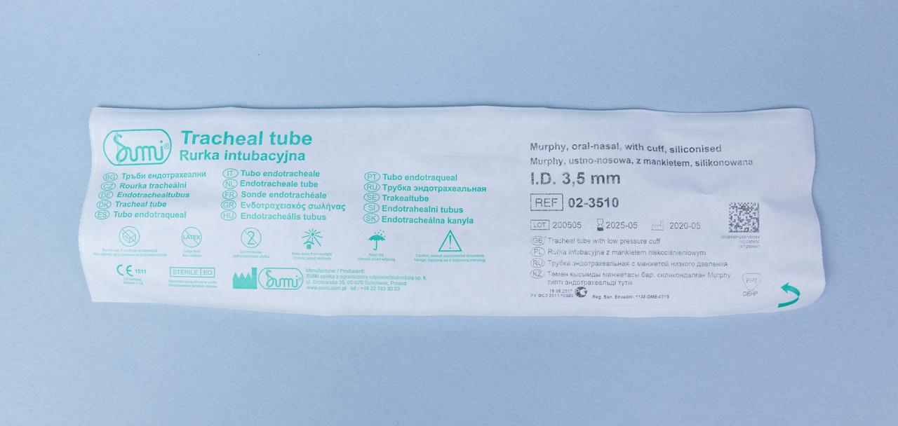 Эндотрахеальная трубка с манжетой №3.5 - фото 2