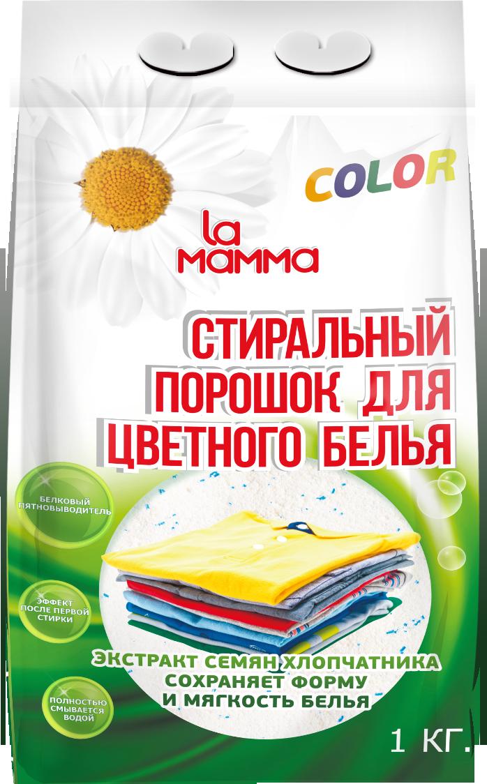 Стиральный порошок для цветного Lamamma 1 кг