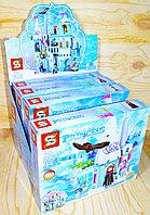 SY1428 ICE and SNOW PRINCESS констр. холодное сердце, 4 вида, из 4шт в уп.,цена за 1шт 24*19см