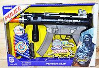 33990 POLICE пистолет муз. стреляет +12патронов, 38*27см