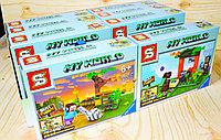 SY6186 MY WORLD  конст. Майнкрафт,8видов,из 8шт в уп.,цена за 1 шт 18*14см, фото 1