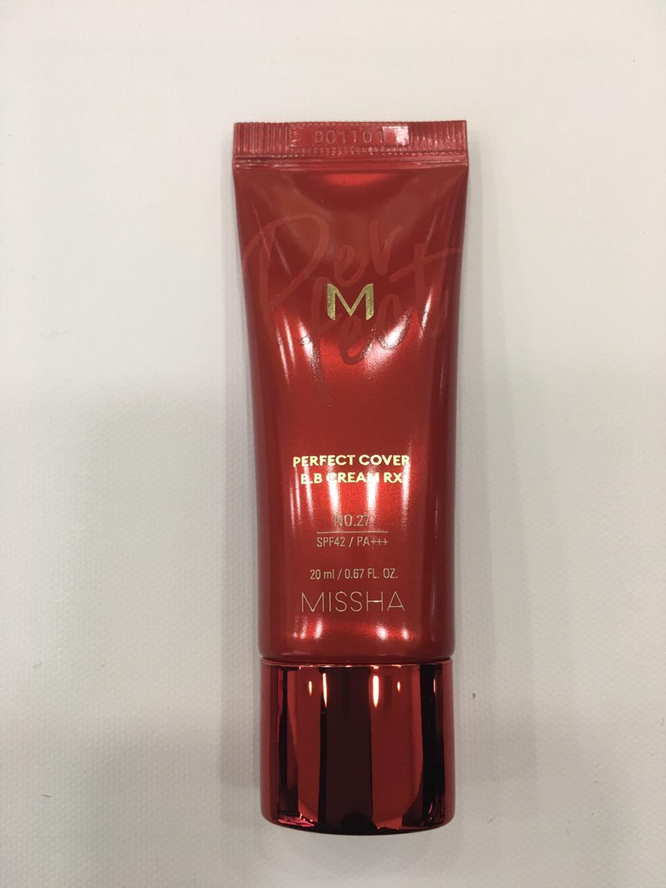 ВВ крем M Perfect Cover BB Cream RX (NO.27/HONEY BEIGE) 20ML