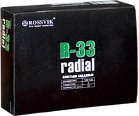 R-33 Пластырь кордовый 100х125мм 3сл Rossvik