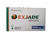 Эксиджад (Exjade) деферазирокс (deferasirox) 250 мг, 500 мг таб. (Европа), фото 2