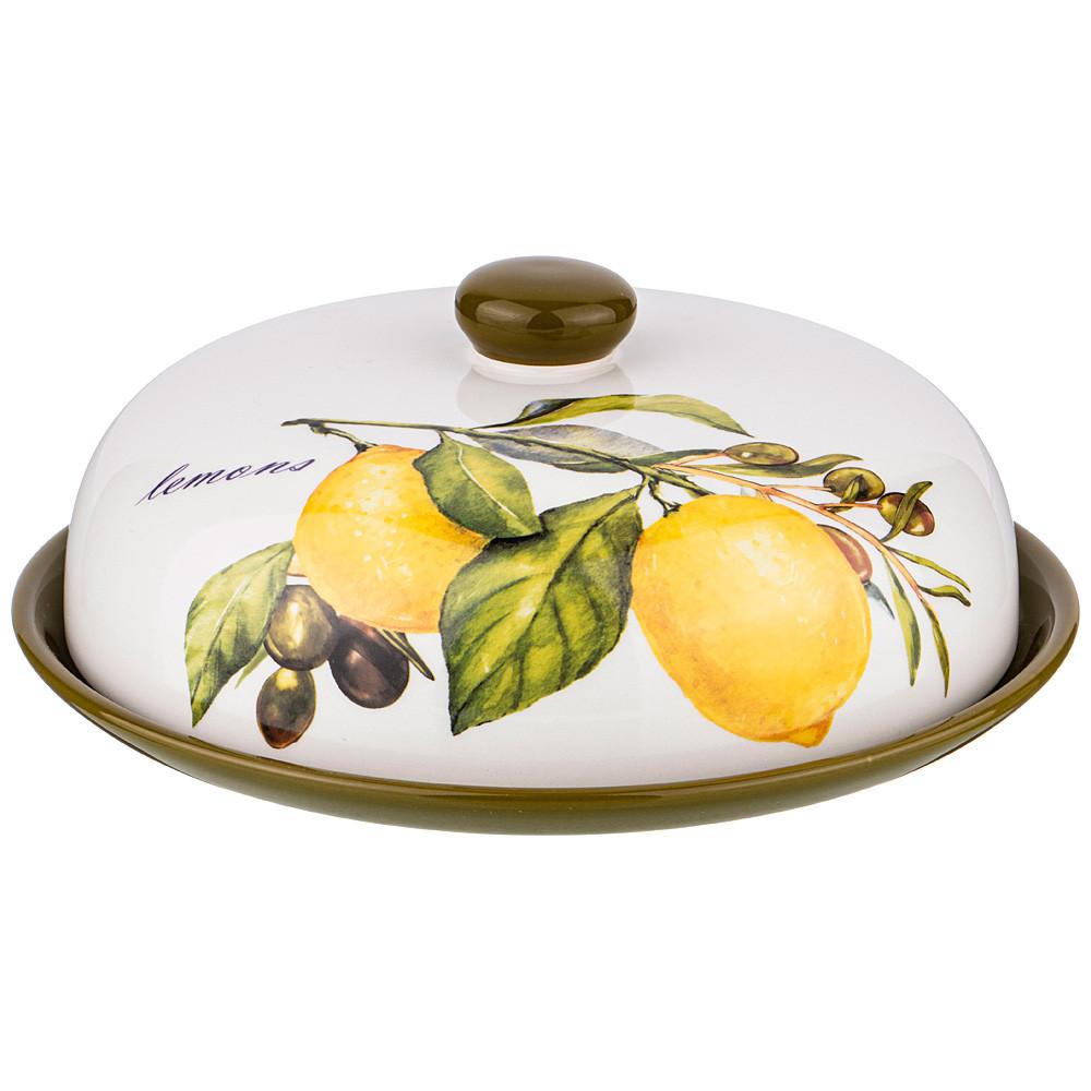 Блюдо для блинов «Лимоны» Agness