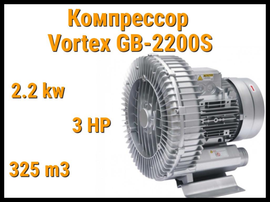 Воздушный компрессор Vortex GB-2200S для системы аэромассажа