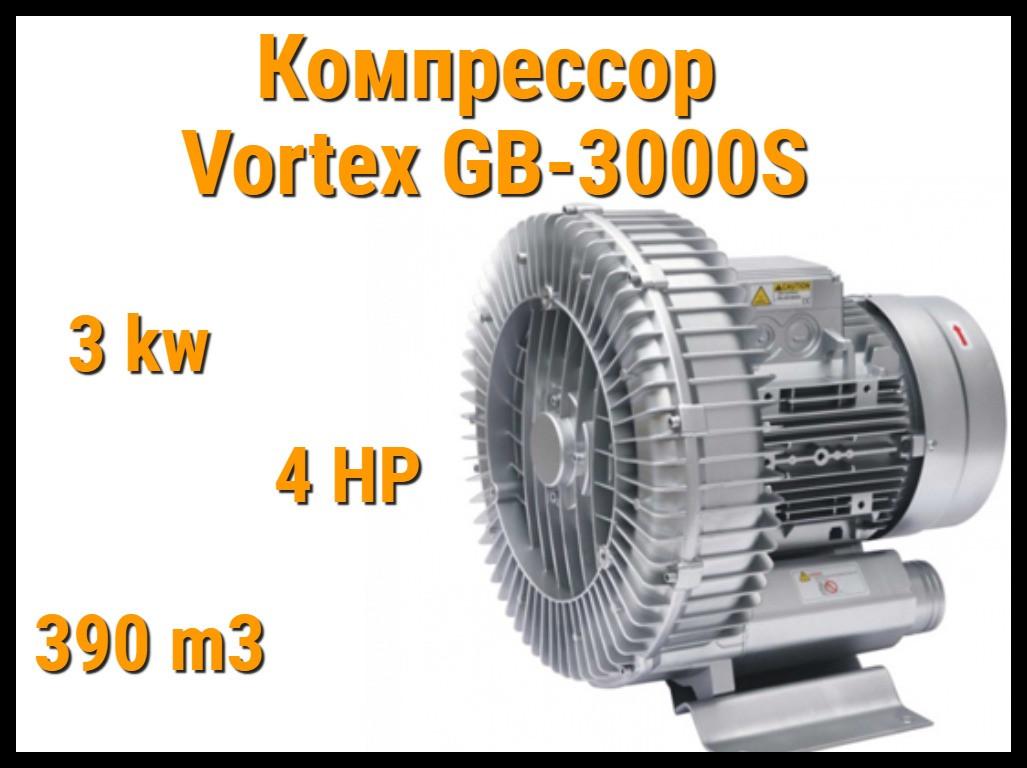 Воздушный компрессор Vortex GB-3000S для системы аэромассажа