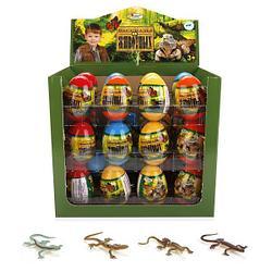 IV Игрушка Сюрприз в яйце «Рептилии и насекомые»