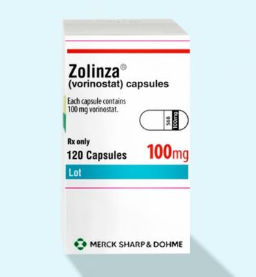 Золинза (Zolinza) вориностат (vorinostat) 100 мг 120 капс. (Европа)