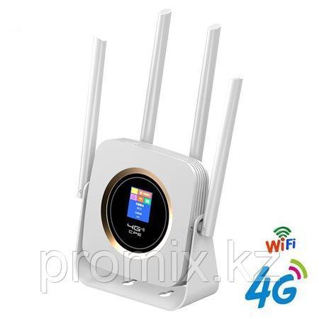 4G LTE Wi-Fi роутер с поддержкой сим карт CPE аккумуляторный