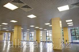 Монтаж системы освещения офиса
