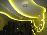 Монтаж подсветки потолков, декоративная подсветка потолка, фото 2