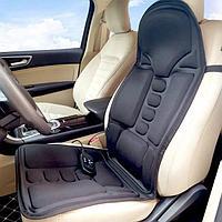 Массажная накидка для сидения автомобиля с подогревом JB-616 (работает от прикуривателя и сети 220В), Алматы