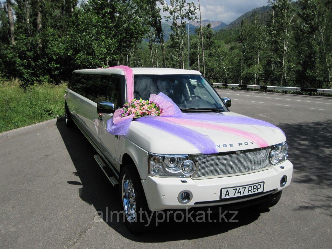 Аренда лимузина Land Rover Range Rover