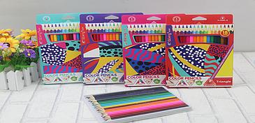 Цветные Карандаши 18 цветов
