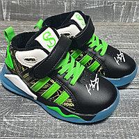 Кроссовки Adidas air на флисе