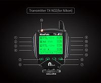 TX-N02 фото радио синхронизатор для NiceFoto K8