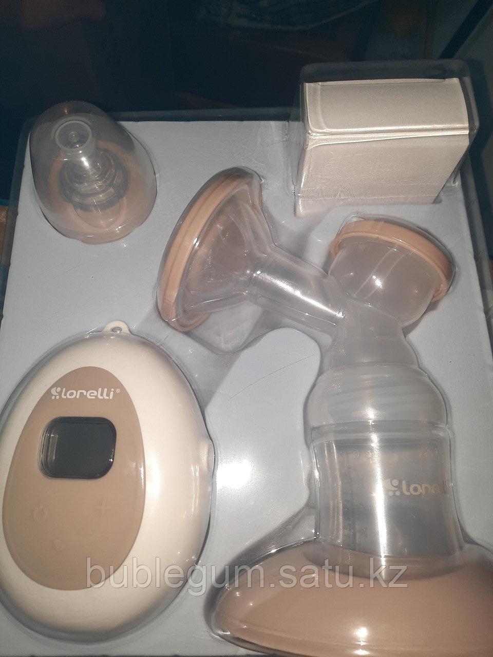 Молокоотсос Lorelli электрический с бутылочкой 150 мл