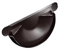 Заглушка торцевая универсальная 125 мм RAL 8017 Коричневый