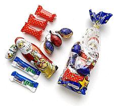 Новогодние подарки из Германских сладостей (250гр.)