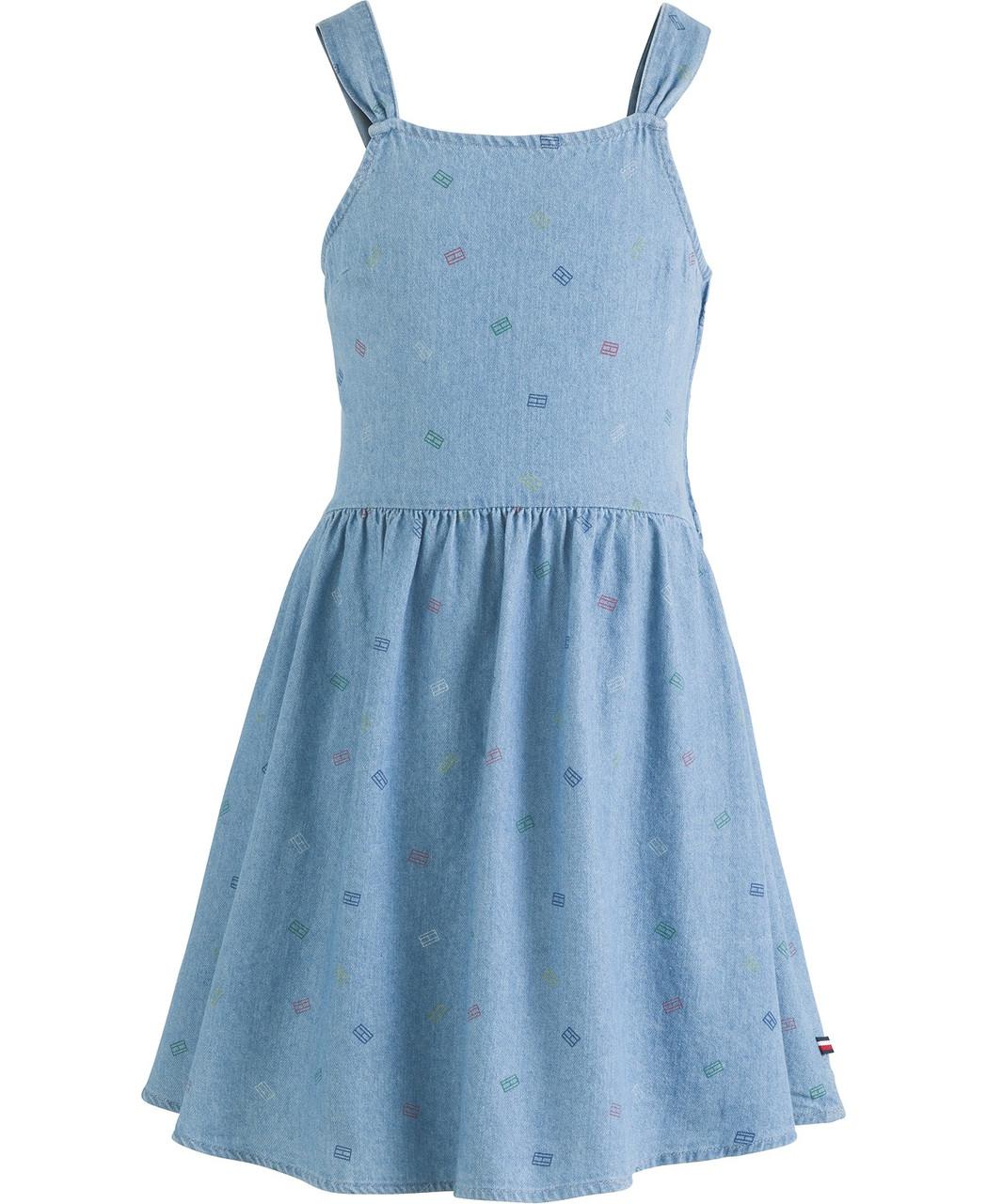 Tommy Hilfiger Детский джинсовый сарафан для девочек 2000000408484