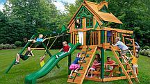 Детская игровая площадка Рассвет Трихауз с рукоходом