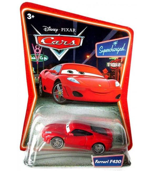 "Cars / Тачки ""Supercharged"" Машинка Михаэль Шумахер Ferrari F430"
