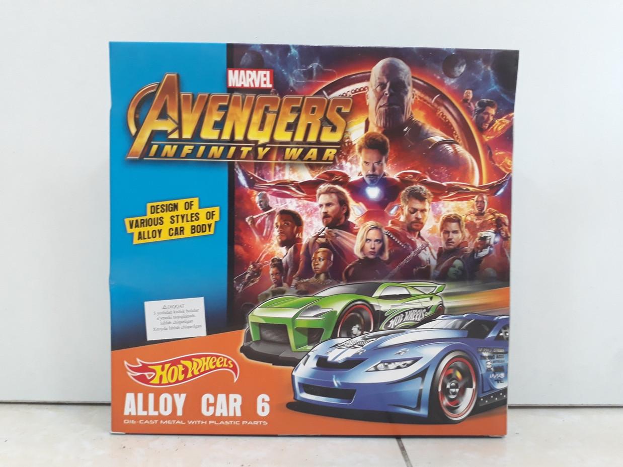 Машинки Hot wheels Avengers. Marvel. Хотвилс. - фото 2