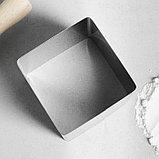 """Форма для выпечки и выкладки """"Квадрат"""", H-8,5 см, 8 х 8 см, фото 2"""