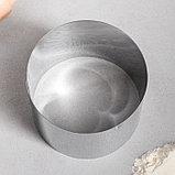 """Форма для выпечки и выкладки """"Круг"""", H-8,5, D-10 см, фото 2"""