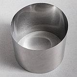 """Форма для выпечки и выкладки """"Круг"""", H-14, D-14 см, фото 2"""