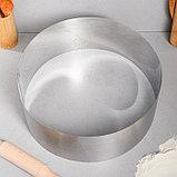"""Форма для выпечки и выкладки """"Круг"""", H-12, D-32 см, фото 2"""