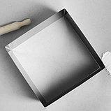 """Форма для выпечки и выкладки """"Квадрат"""", H-12 см, 30 х 30 см, фото 2"""