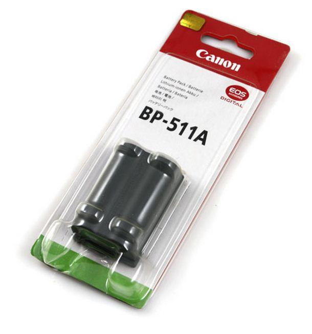 Батарея аккумуляторная Canon BP-511A