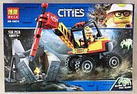 Конструктор Bela 10874 Трактор для горных работ