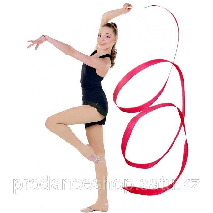 Трико для гимнастики и хореографии 80 DEN Solo Цвет Телесный Размер 2(152-164) - фото 1