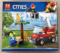 Конструктор Lari Cities 11211 Пожар на пикнике
