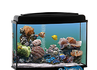 Аквариум GoldFish,телевизор 100 литров с крышкой