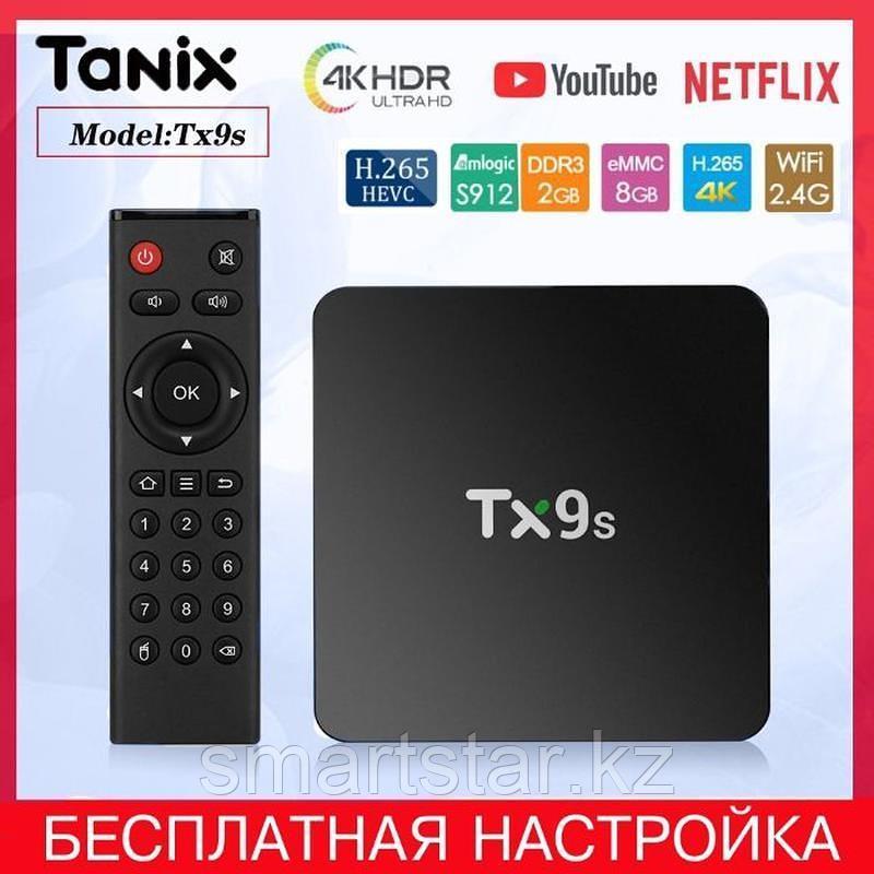 Tanix TX9S восьми ядерный android tv box
