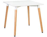 Стол обеденный Eames белый