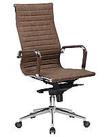 Кресло для руководителя LMR-101F коричневый лофт
