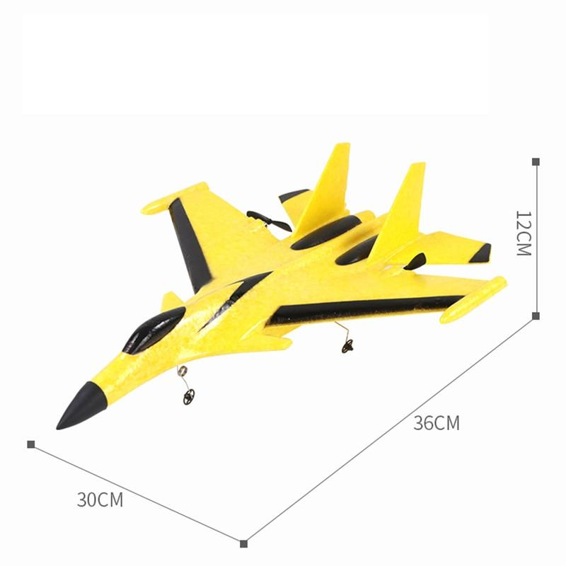 Радиоуправляемые самолеты 2.4 Ггц Дрон истребитель +Трюки миг 29, су 35 игрушка на пульте управления 2.4Ghz
